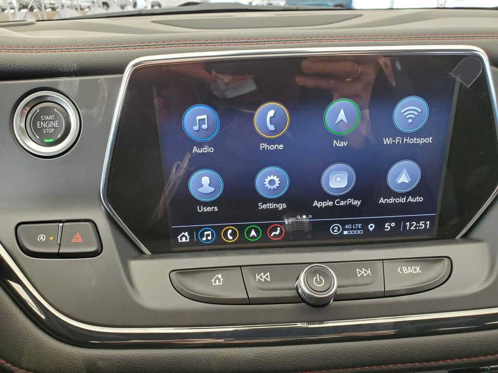 Red 2021 Chevrolet Blazer Left Side Photo in Airdrie AB