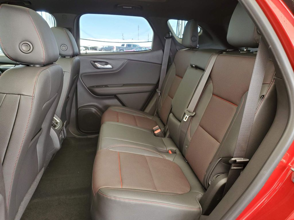 Red 2021 Chevrolet Blazer Center Console Photo in Airdrie AB