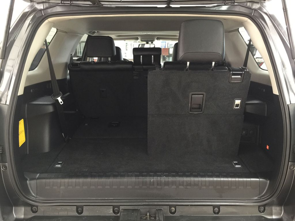 Gray[Magnetic Grey Metallic] 2018 Toyota 4Runner LIMITED Cargo Area/Rear Seats Photo in Sherwood Park AB