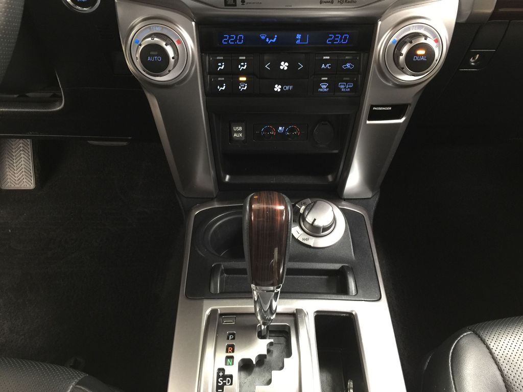 Gray[Magnetic Grey Metallic] 2018 Toyota 4Runner LIMITED Lower Dash Photo in Sherwood Park AB