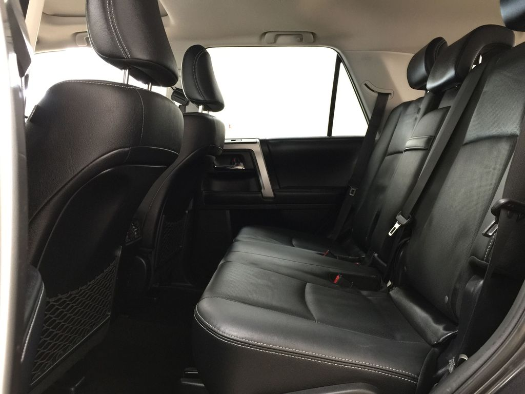 Gray[Magnetic Grey Metallic] 2018 Toyota 4Runner LIMITED Left Side Rear Seat  Photo in Sherwood Park AB