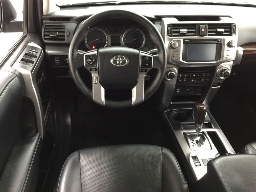 Gray[Magnetic Grey Metallic] 2018 Toyota 4Runner LIMITED Left Front Seat Photo in Sherwood Park AB