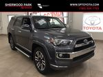 Gray[Magnetic Grey Metallic] 2018 Toyota 4Runner LIMITED Primary Photo in Sherwood Park AB