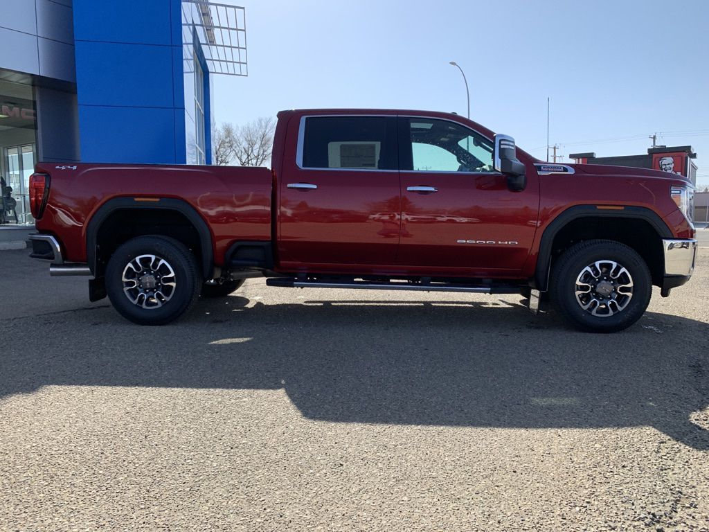 Red 2021 GMC Sierra 2500HD Left Front Interior Photo in Brooks AB