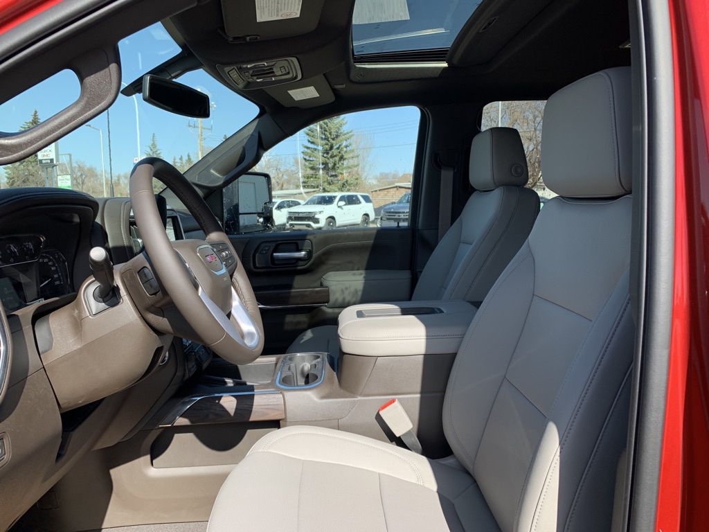 Red 2021 GMC Sierra 2500HD Front Vehicle Photo in Brooks AB