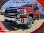 Red 2021 GMC Sierra 2500HD Primary Listing Photo in Brooks AB