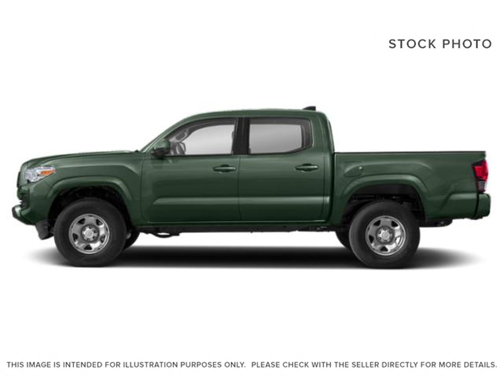 Green[Army Green] 2021 Toyota Tacoma Left Side Photo in Beverly Hills NU