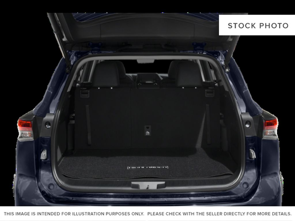 Gray[Magnetic Grey Metallic] 2021 Toyota Highlander Trunk / Cargo Area Photo in Beverly Hills NU