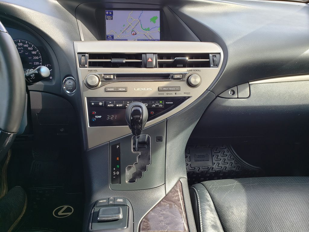 Gray[Nebula Grey Pearl] 2015 Lexus RX 350 Central Dash Options Photo in Kelowna BC