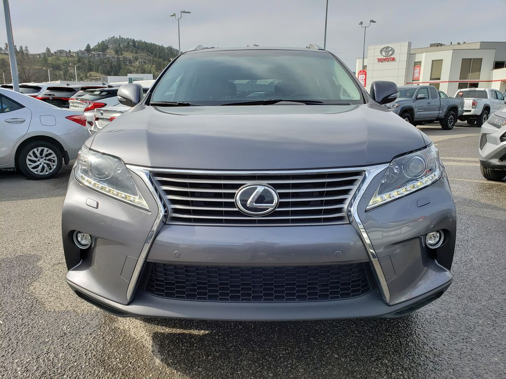 Gray[Nebula Grey Pearl] 2015 Lexus RX 350 Front Vehicle Photo in Kelowna BC