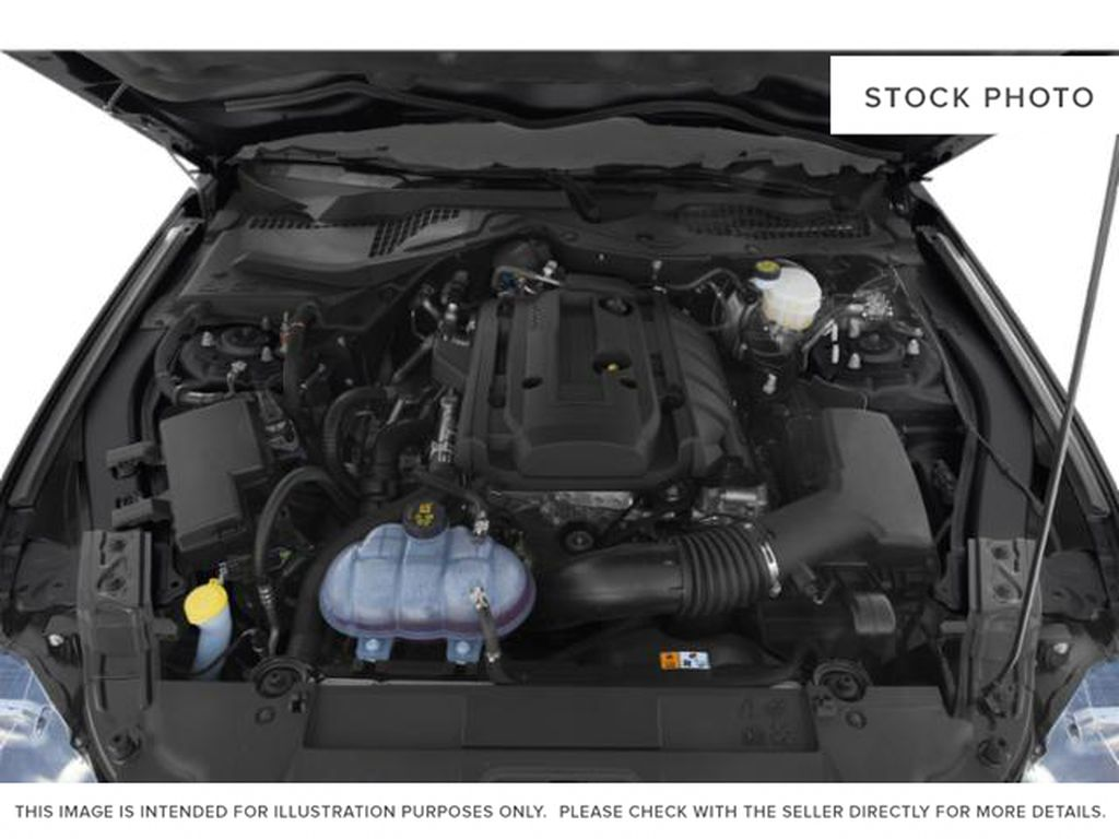 Blue[Antimatter Blue Metallic] 2021 Ford Mustang Engine Compartment Photo in Dartmouth NS