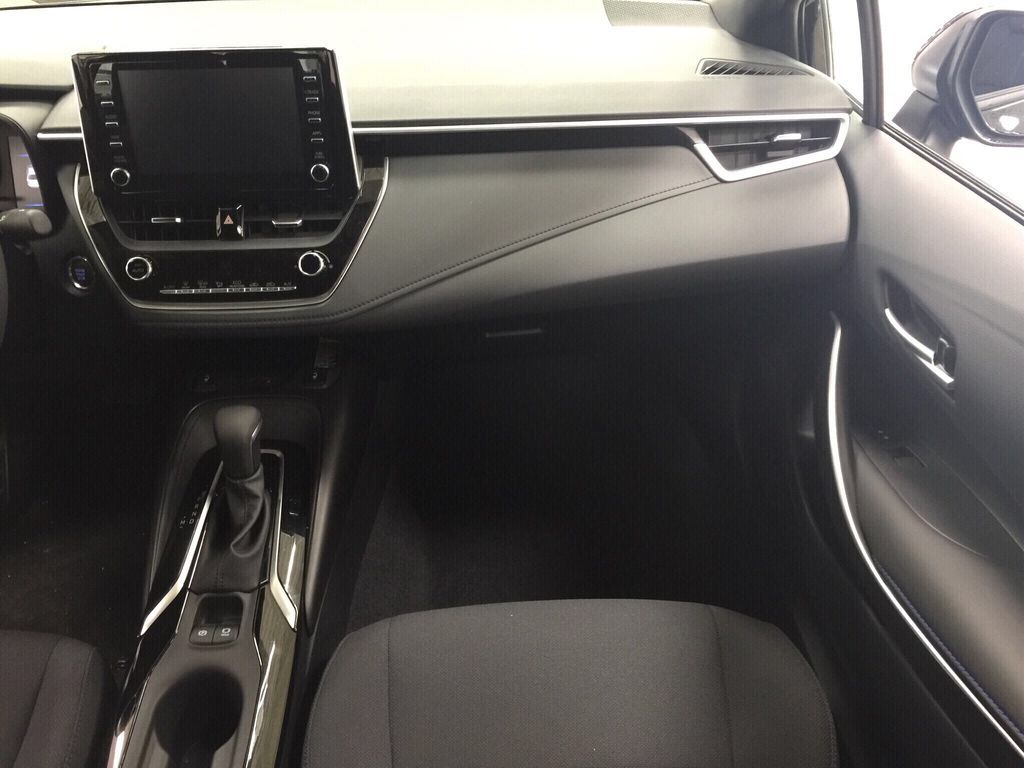 Black[Black Sand Pearl] 2021 Toyota Corolla SE Upgrade Right Front Seat Photo in Sherwood Park AB