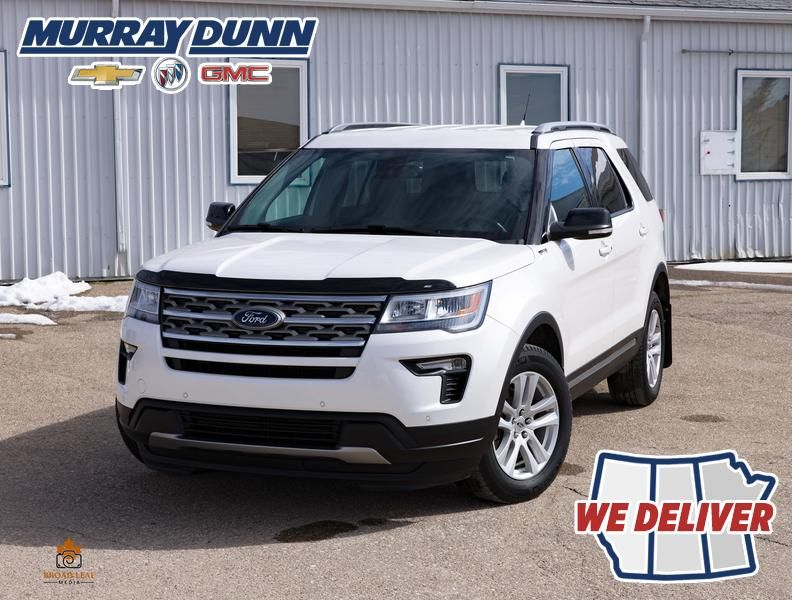 White[Oxford White] 2018 Ford Explorer