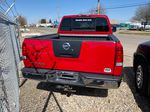 Red[Matador Red] 2011 Nissan Titan Rear of Vehicle Photo in Lethbridge AB