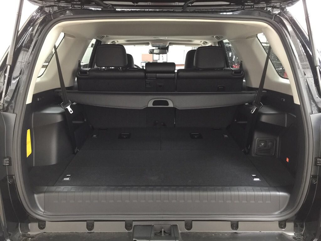 Black[Midnight Black Metallic] 2021 Toyota 4Runner Limited Cargo Area/Rear Seats Photo in Sherwood Park AB