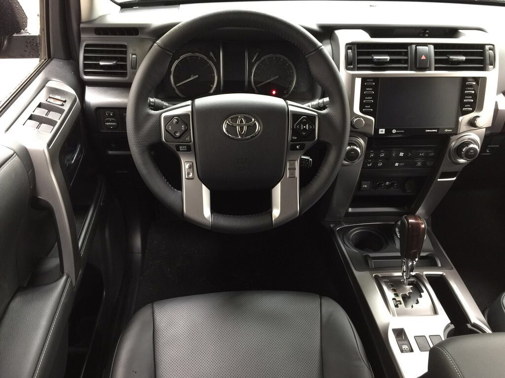 Black[Midnight Black Metallic] 2021 Toyota 4Runner Limited Left Front Seat Photo in Sherwood Park AB