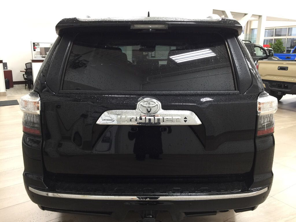 Black[Midnight Black Metallic] 2021 Toyota 4Runner Limited Rear of Vehicle Photo in Sherwood Park AB