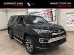 Black[Midnight Black Metallic] 2021 Toyota 4Runner Limited Primary Listing Photo in Sherwood Park AB
