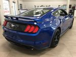 Blue[Kona Blue] 2018 Ford Mustang Ecoboost Right Rear Corner Photo in Sherwood Park AB