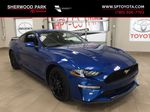 Blue[Kona Blue] 2018 Ford Mustang Ecoboost Primary Photo in Sherwood Park AB