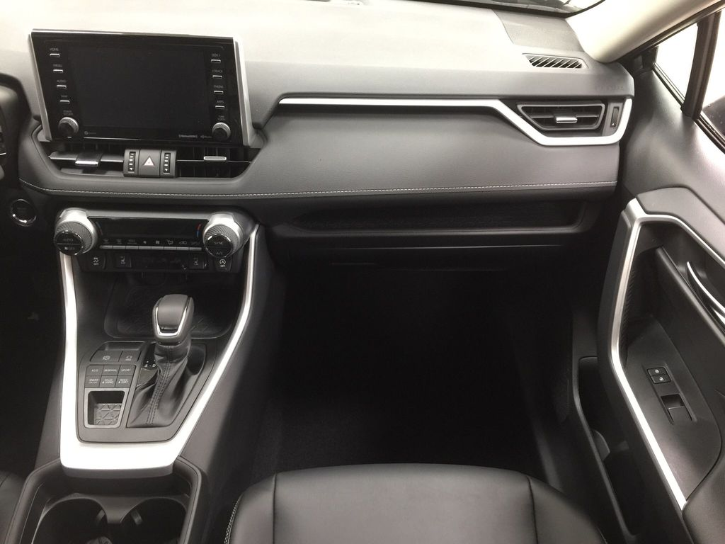 Gray[Magnetic Grey Metallic] 2021 Toyota RAV4 XLE Premium Right Front Seat Photo in Sherwood Park AB