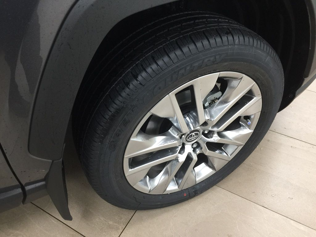 Gray[Magnetic Grey Metallic] 2021 Toyota RAV4 XLE Premium Right Front Rim and Tire Photo in Sherwood Park AB