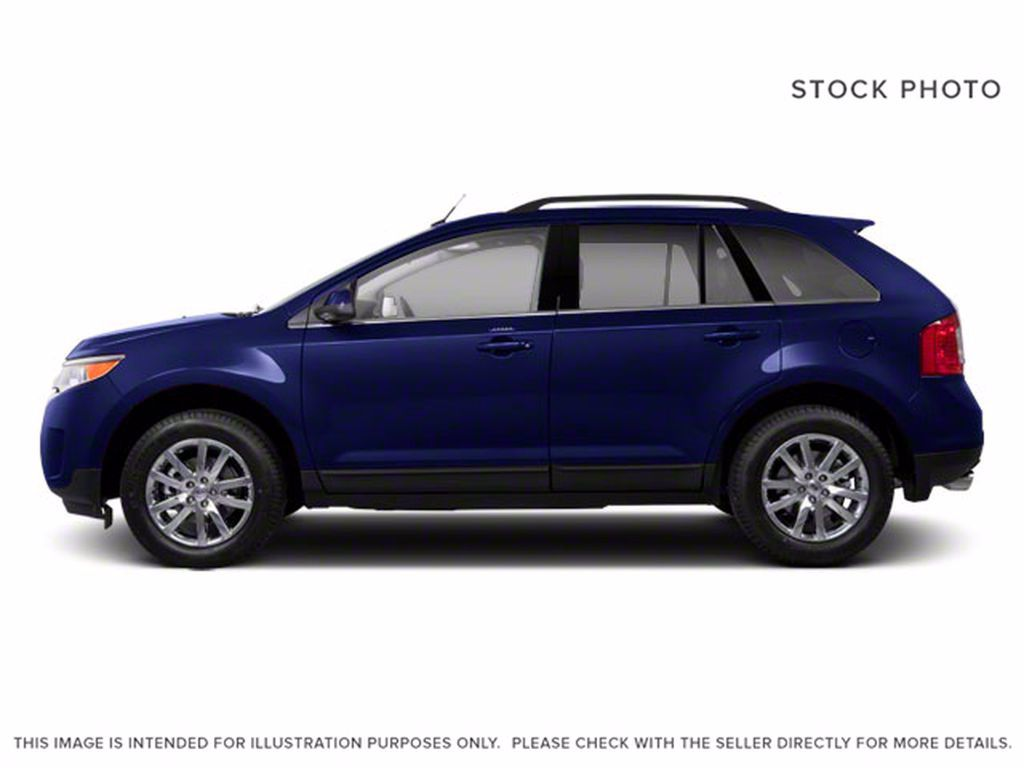 Blue[Kona Blue Metallic] 2011 Ford Edge Left Front Interior Photo in Brandon MB