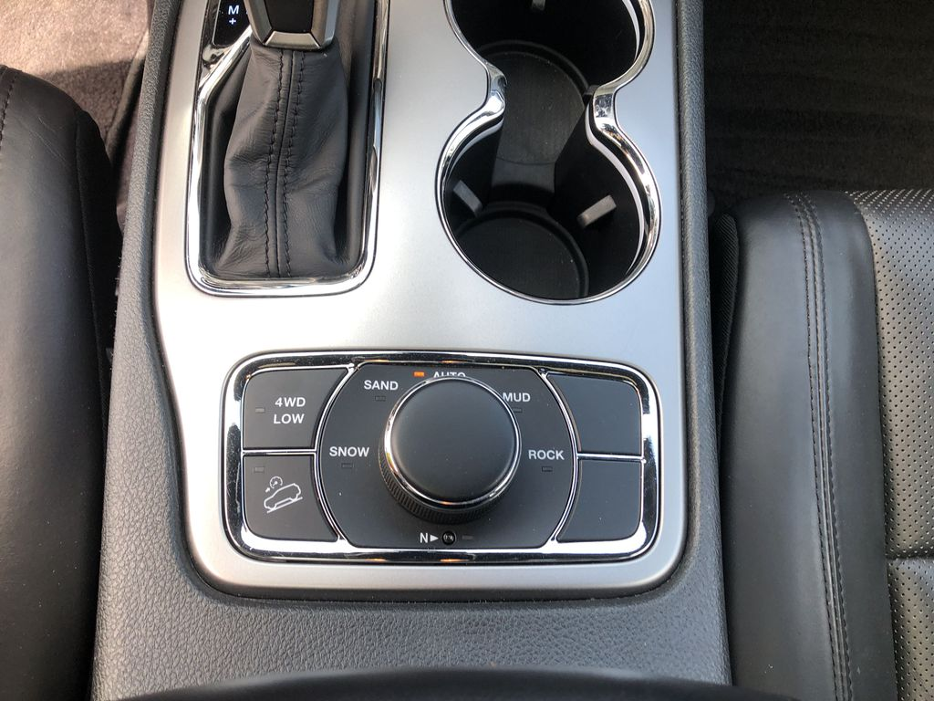 White[Bright White] 2018 Jeep Grand Cherokee Limited *Vented Seats* *Panoramic Sunroof* Additional Photo in Brandon MB