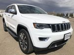 White[Bright White] 2018 Jeep Grand Cherokee Limited *Vented Seats* *Panoramic Sunroof* Right Front Corner Photo in Brandon MB