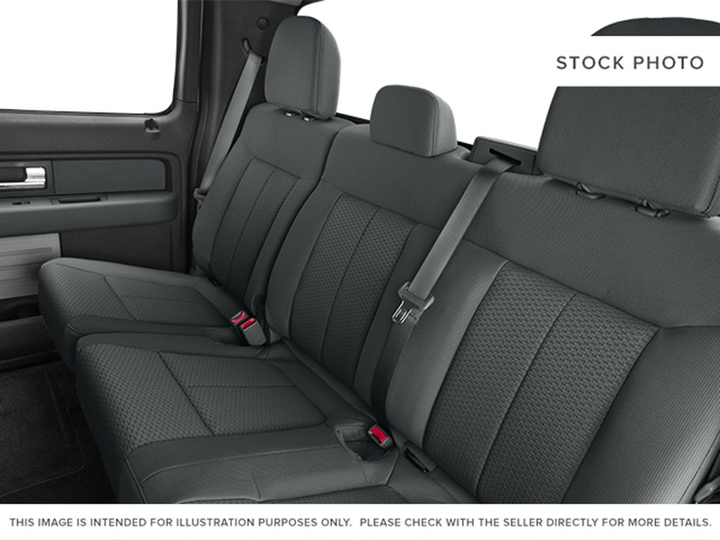 White[Oxford White] 2013 Ford F-150 Left Side Rear Seat  Photo in Fort Macleod AB