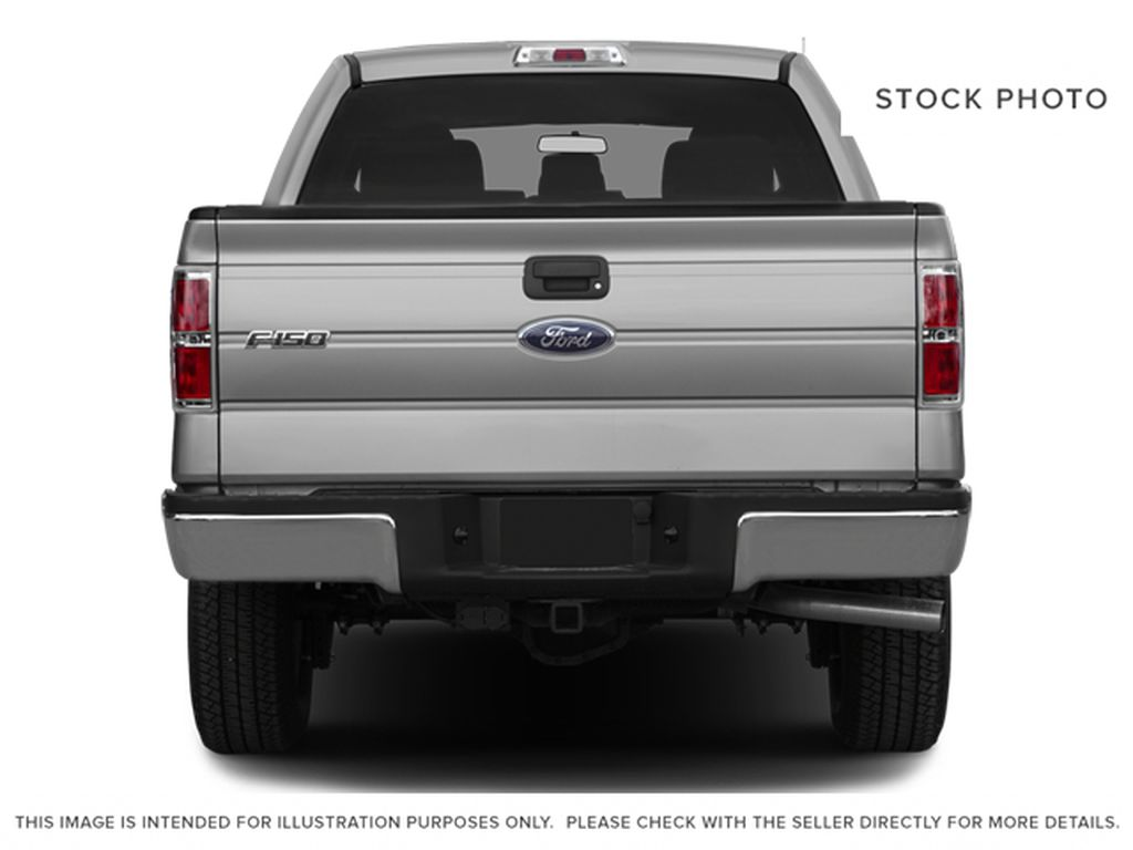 White[Oxford White] 2013 Ford F-150 Rear of Vehicle Photo in Fort Macleod AB