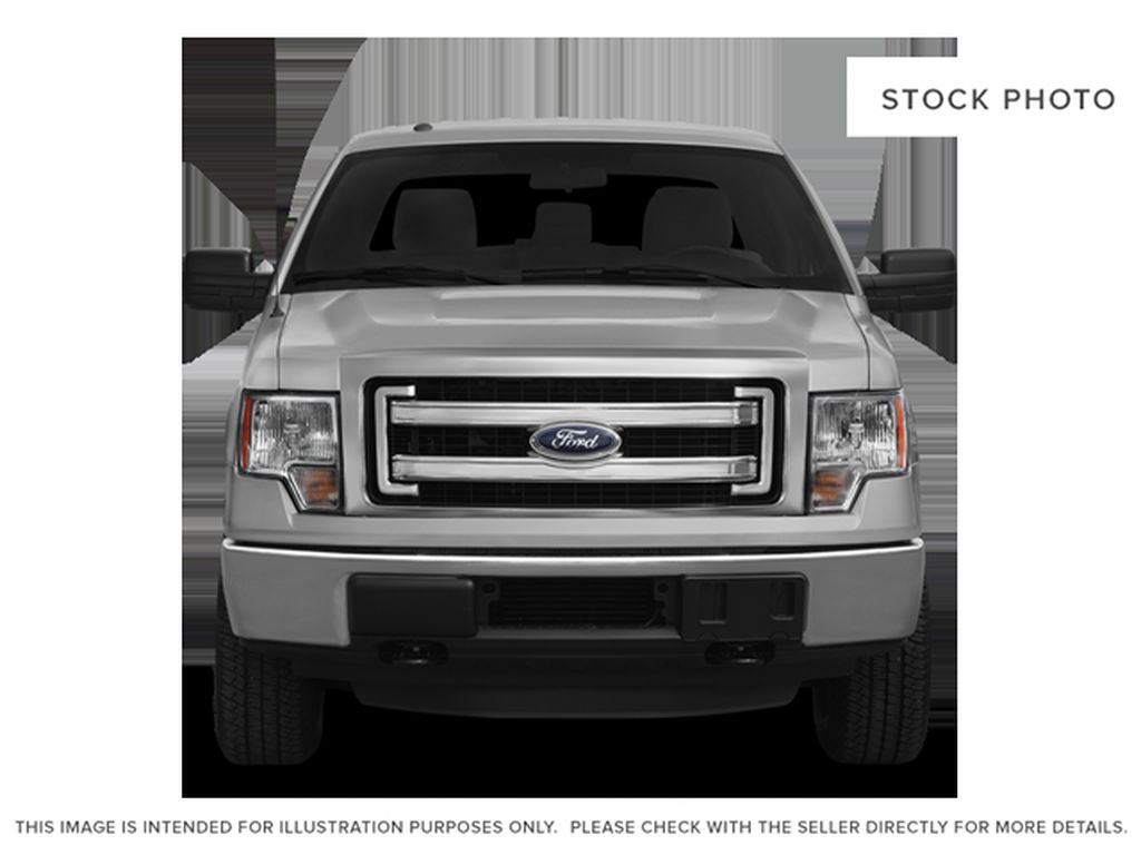 White[Oxford White] 2013 Ford F-150 Front Vehicle Photo in Fort Macleod AB