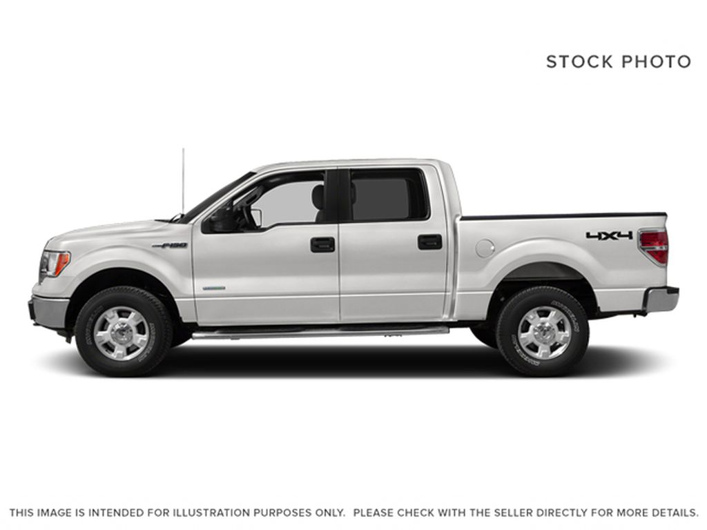 White[Oxford White] 2013 Ford F-150 Left Side Photo in Fort Macleod AB