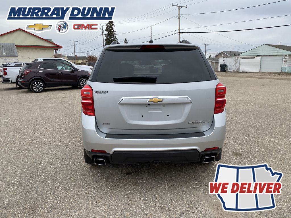 Silver[Silver Ice Metallic] 2016 Chevrolet Equinox LT Rear of Vehicle Photo in Nipawin SK