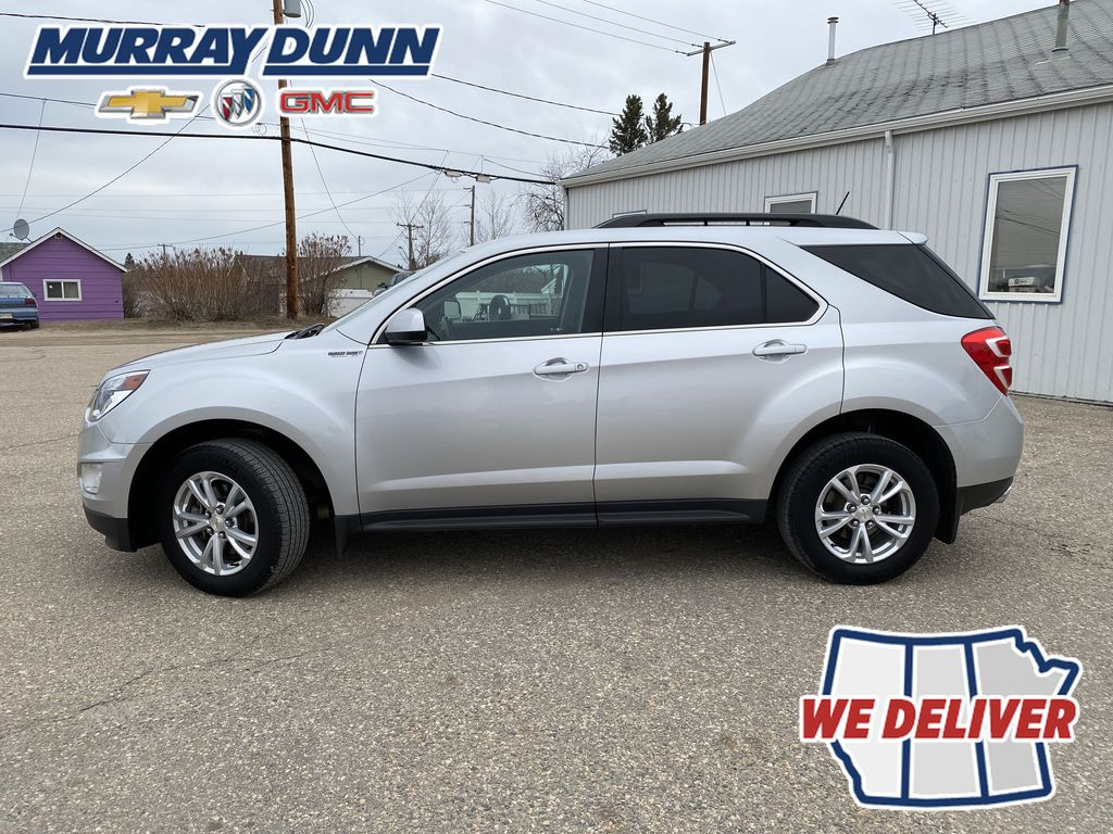 Silver[Silver Ice Metallic] 2016 Chevrolet Equinox LT Left Side Photo in Nipawin SK