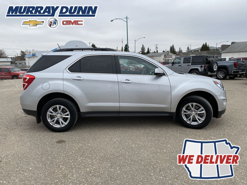 Silver[Silver Ice Metallic] 2016 Chevrolet Equinox LT Right Side Photo in Nipawin SK