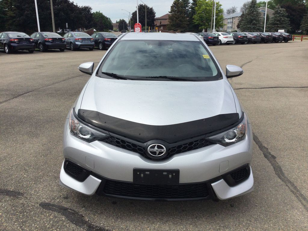 Silver[Classic Silver Metallic] 2016 Scion iM Front Vehicle Photo in Brockville ON