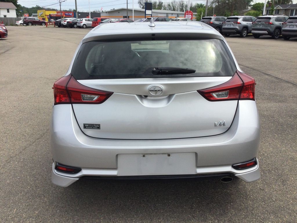 Silver[Classic Silver Metallic] 2016 Scion iM Rear of Vehicle Photo in Brockville ON