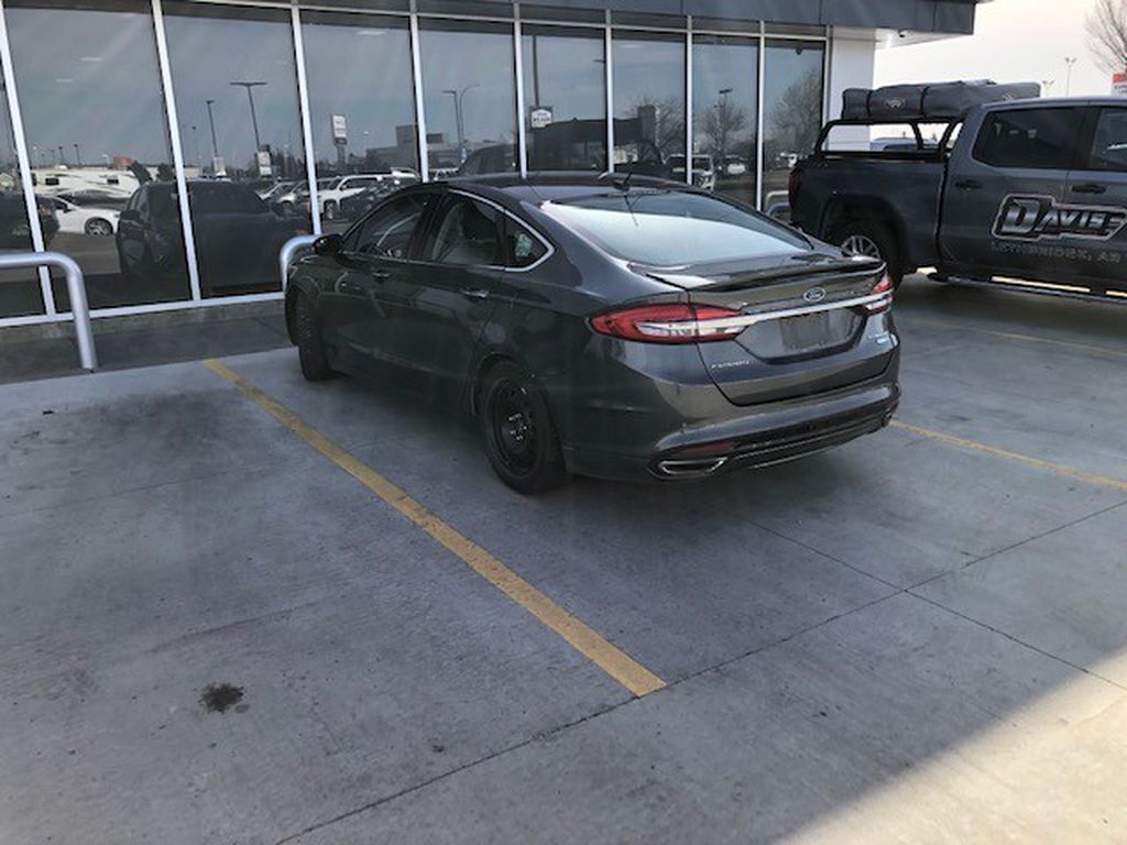 Grey 2017 Ford Fusion Left Front Interior Door Panel Photo in Lethbridge AB
