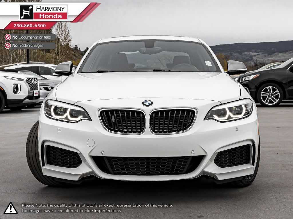2018 BMW 2 Series Left Front Interior Photo in Kelowna BC