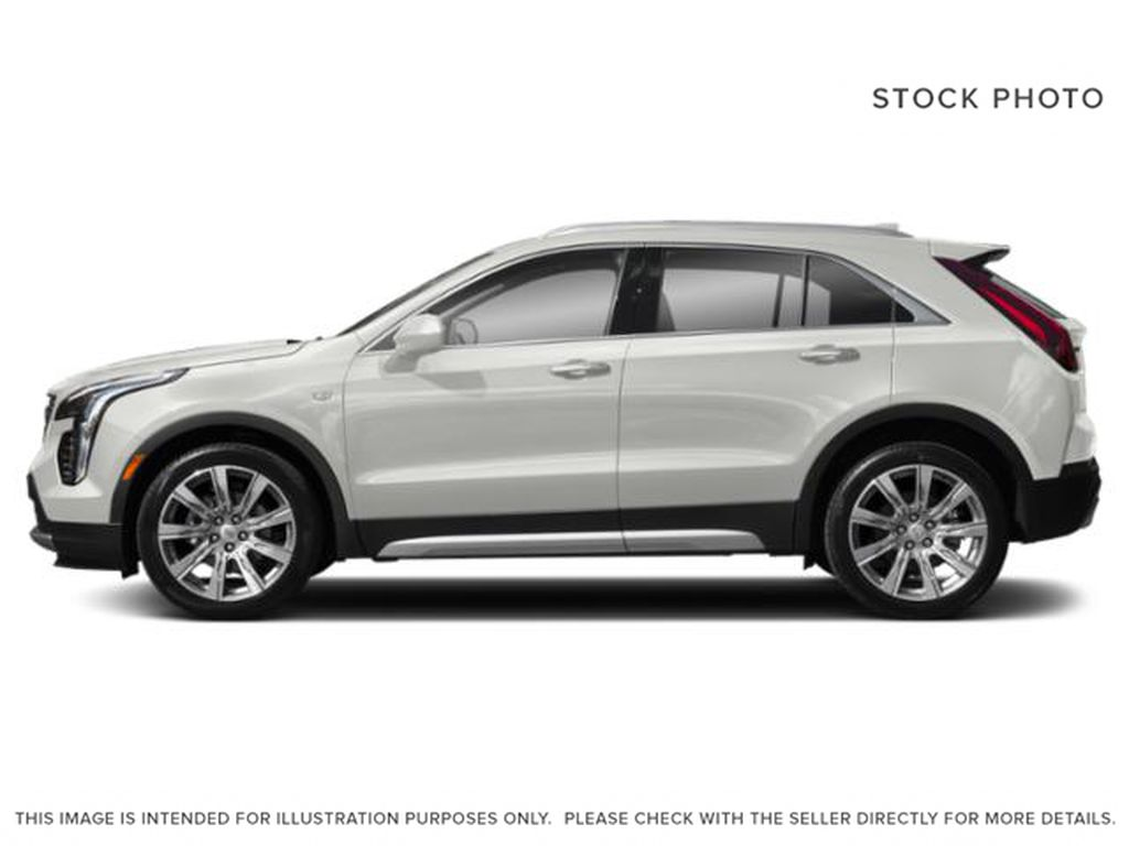 White[Crystal White Tricoat] 2019 Cadillac XT4 Left Side Photo in Edmonton AB
