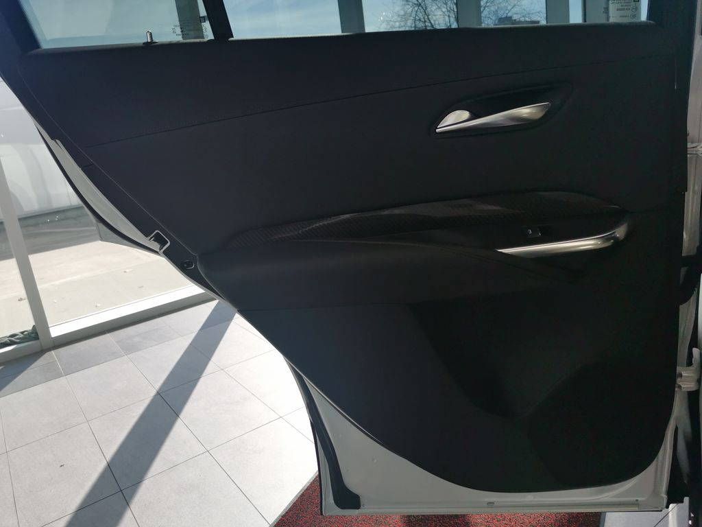 White[Crystal White Tricoat] 2019 Cadillac XT4 Left Rear Interior Door Panel Photo in Edmonton AB