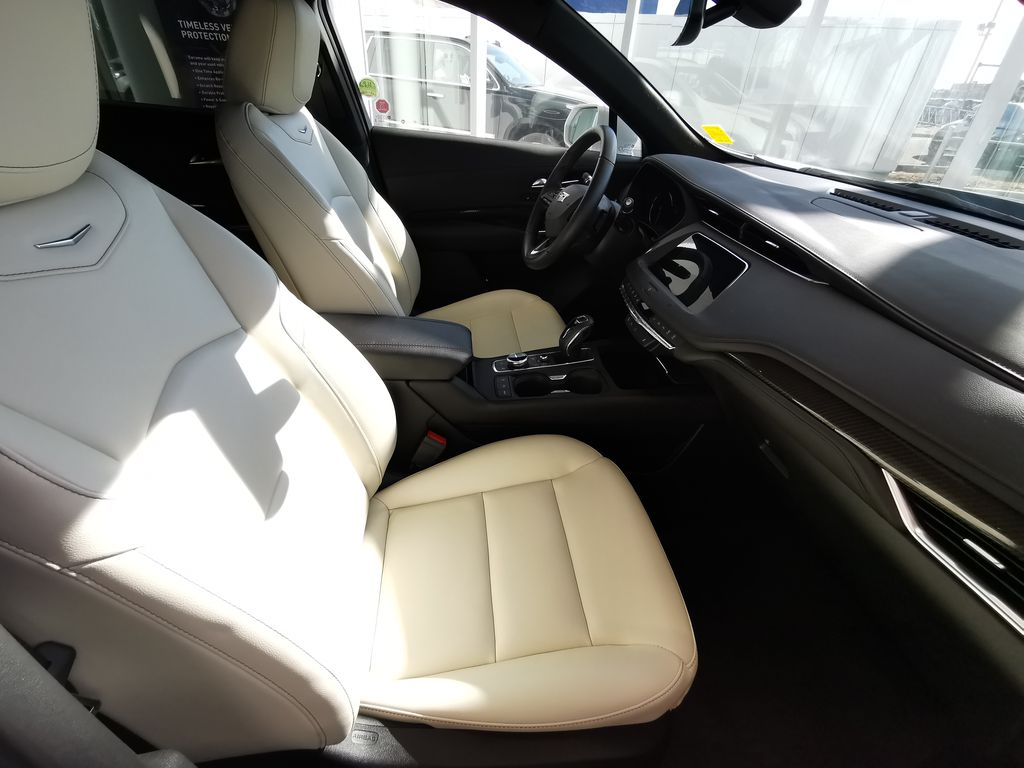 White[Crystal White Tricoat] 2019 Cadillac XT4 Right Side Front Seat  Photo in Edmonton AB
