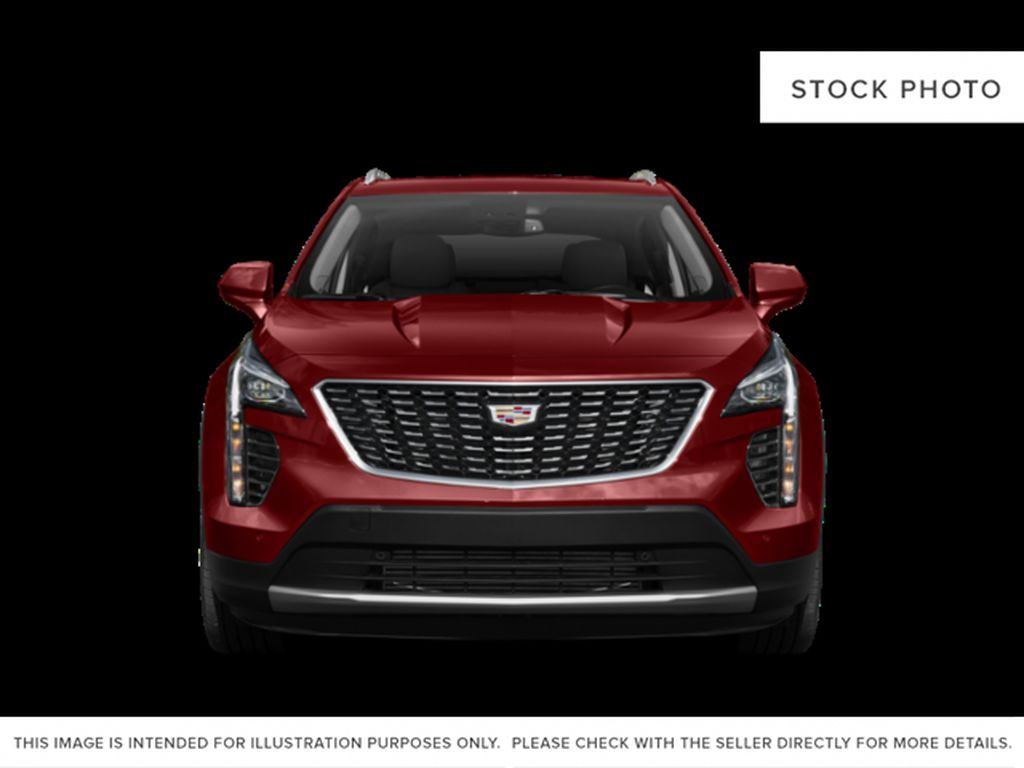 White[Crystal White Tricoat] 2019 Cadillac XT4 Front Vehicle Photo in Edmonton AB