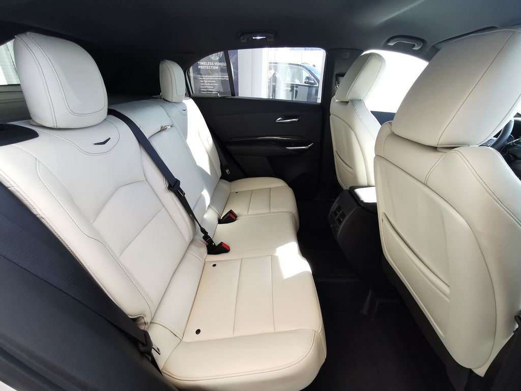 White[Crystal White Tricoat] 2019 Cadillac XT4 Right Side Rear Seat  Photo in Edmonton AB