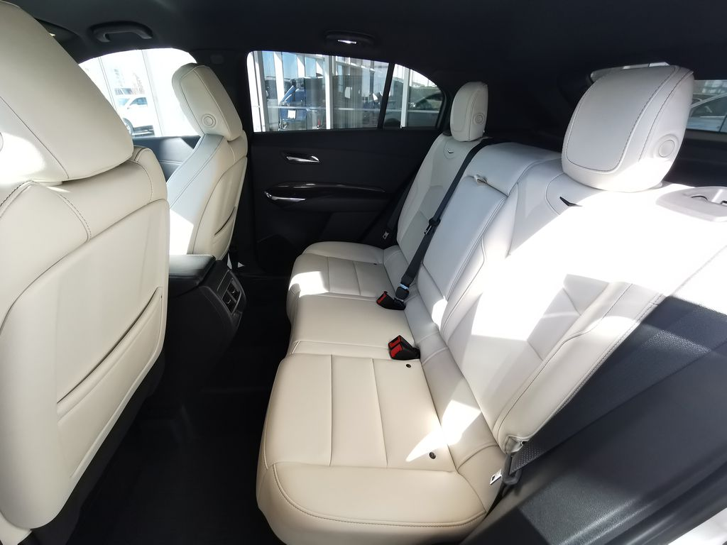 White[Crystal White Tricoat] 2019 Cadillac XT4 Left Side Rear Seat  Photo in Edmonton AB