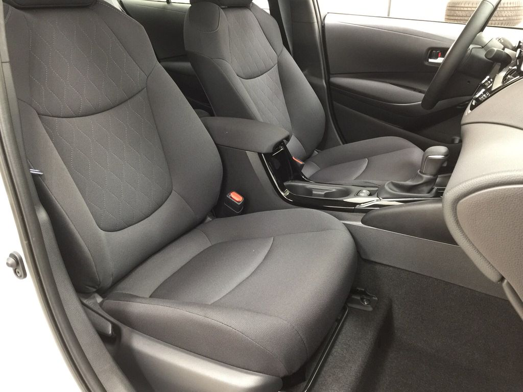 Silver[Classic Silver Metallic] 2021 Toyota Corolla LE Upgrade Right Side Front Seat  Photo in Sherwood Park AB