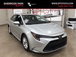 Silver[Classic Silver Metallic] 2021 Toyota Corolla LE Upgrade Primary Photo in Sherwood Park AB