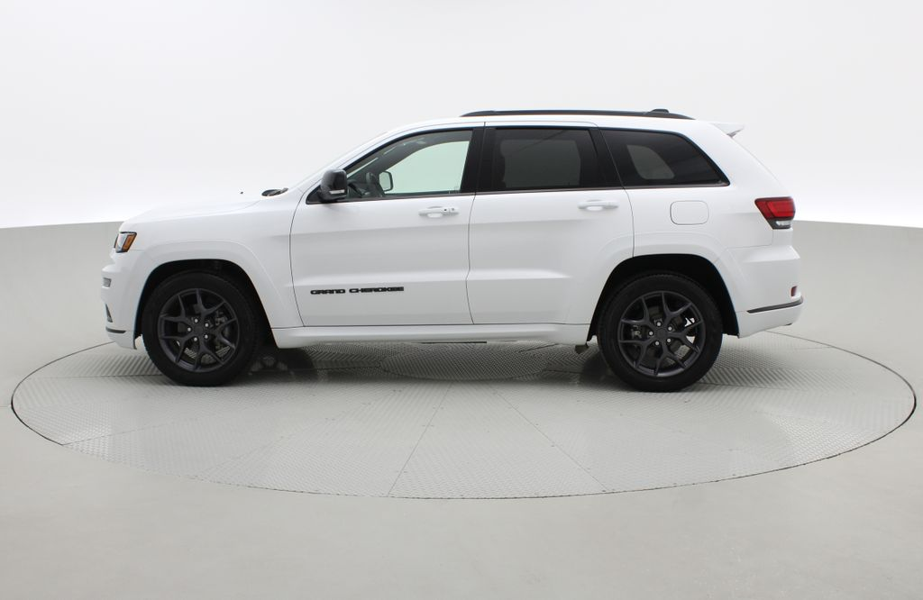 White[Bright White] 2019 Jeep Grand Cherokee Limited X 4WD - Panoramic Roof Left Side Photo in Winnipeg MB