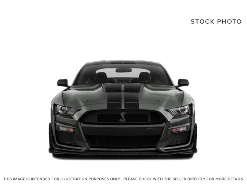Black[Shadow Black] 2021 Ford Mustang Front Vehicle Photo in Dartmouth NS